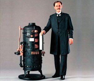 Historia del calentador de agua