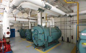 Boiler industrial calefacción en alimentos