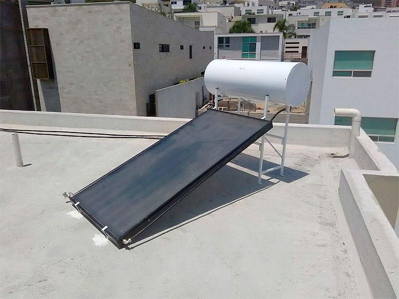 Las fallas más comunes en el boiler solar